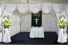 Christian funeral service in Singapore