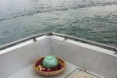 Sea burial Singapore